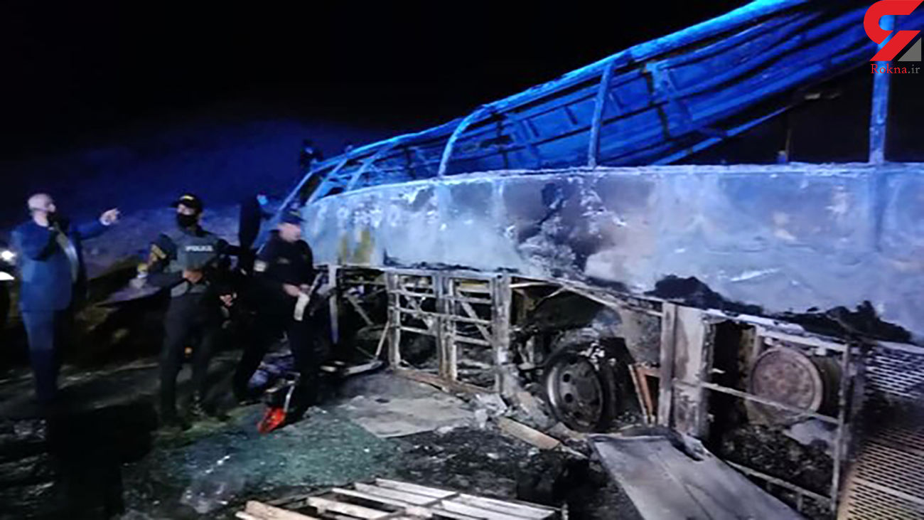 واژگونی مرگبار اتوبوس مسافربری با 20 کشته در مصر + عکس