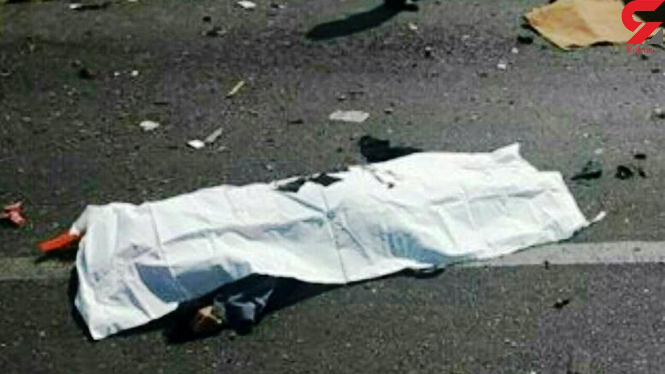 مرگ تلخ یک زنجانی وسط خیابان