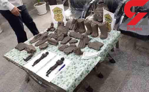 کشف یک مومیایی از جویندگان گنج خوزستان+ عکس