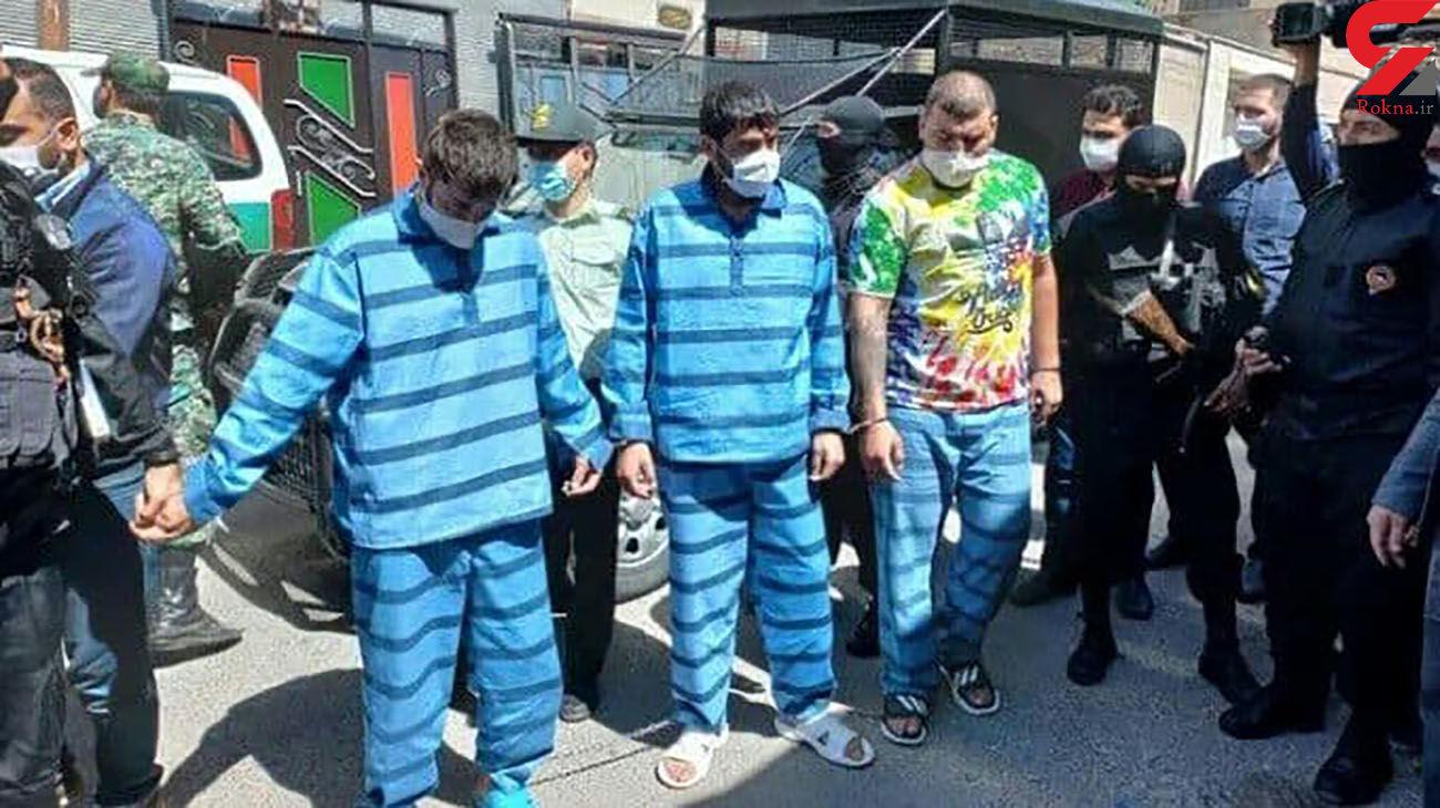 حکم اعدام برای3 شرور هشترودی ! / آنها با کلاشینکف شهر را وحشت زده کردند + عکس