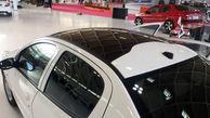 ایران خودرو 207 صندوقدار و هاچ بک با سقف شیشه ای را به نمایش گذاشت +عکس
