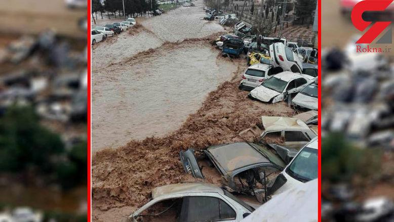 باران شیراز به اندازه یک بند انگشت بود ! آیا سپاه مقصر سیل شیراز است ؟ +فیلم دیدنی