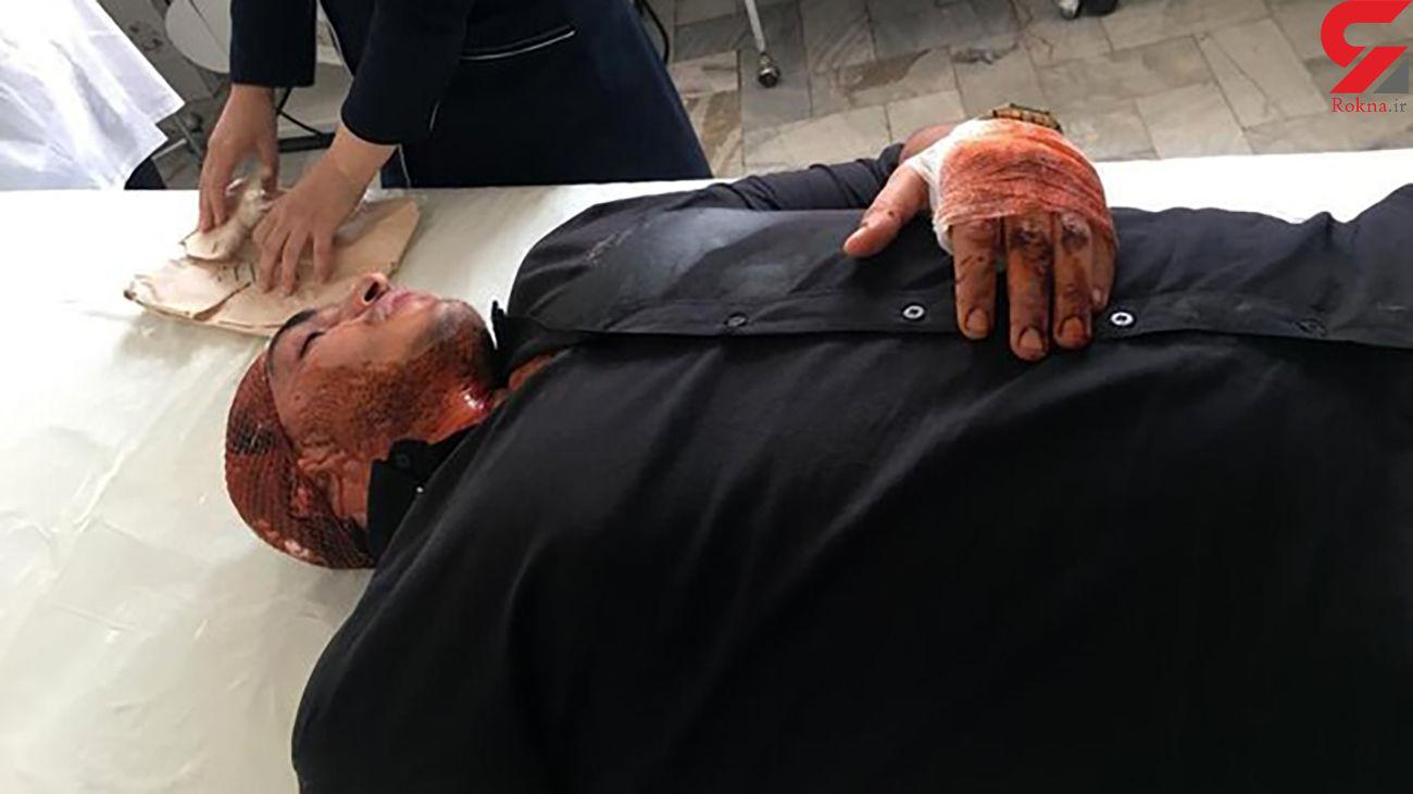 حمله اوباش تهرانی به قهرمان بوکس المپیکی ایران + جزئیات و عکس