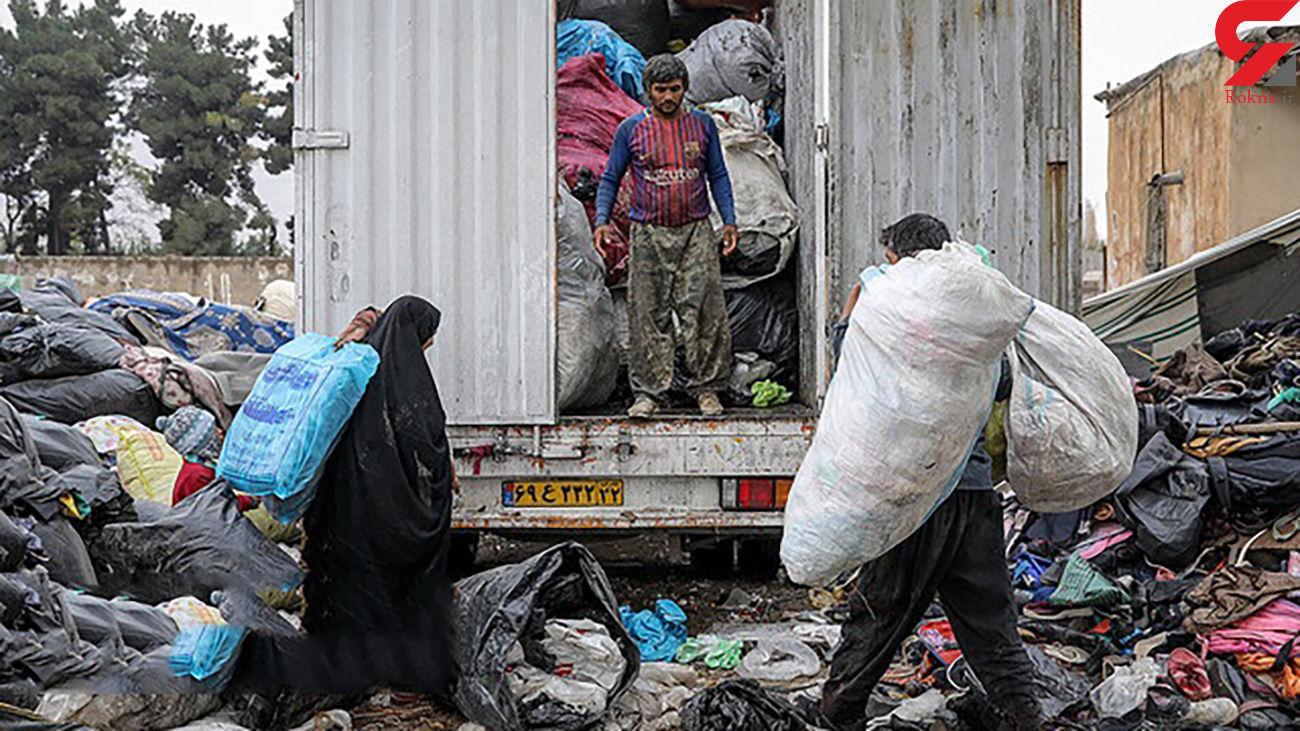 جوی گردی زنان برای رسیدن به نان / افزایش نگران کننده آمار زنان آسیب دیده در تهران + فیلم