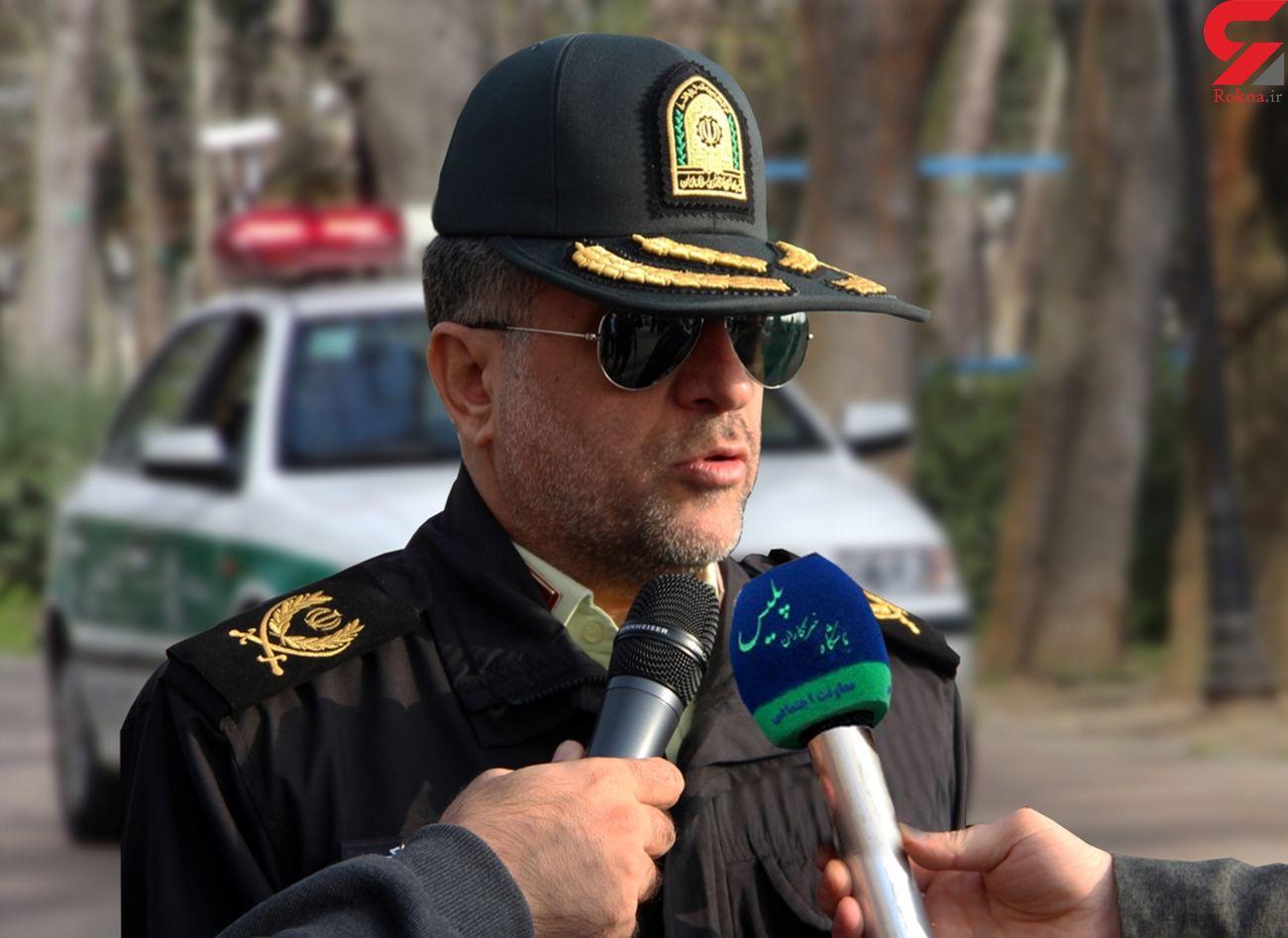 پلیس در خط مقدم مقابله با کرونا است، کاهش  جانباختگان تصادفات در گیلان
