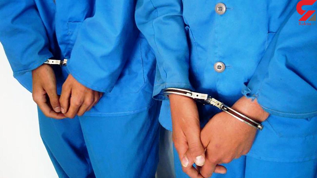 دستگیری 2 سارق حرفهای موتور سیکلت در اهواز
