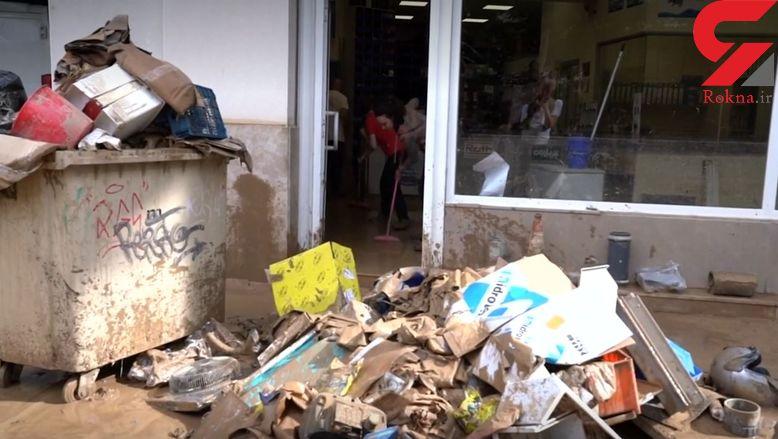 مرگ تلخ 2 کودک و 6 تبعه خارجی در توفان شدید/ در یونان رخ داد + عکس