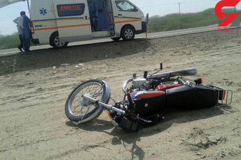 برخورد مرگبار پژو با موتورسیکلت در بجستان جان یک تن را گرفت