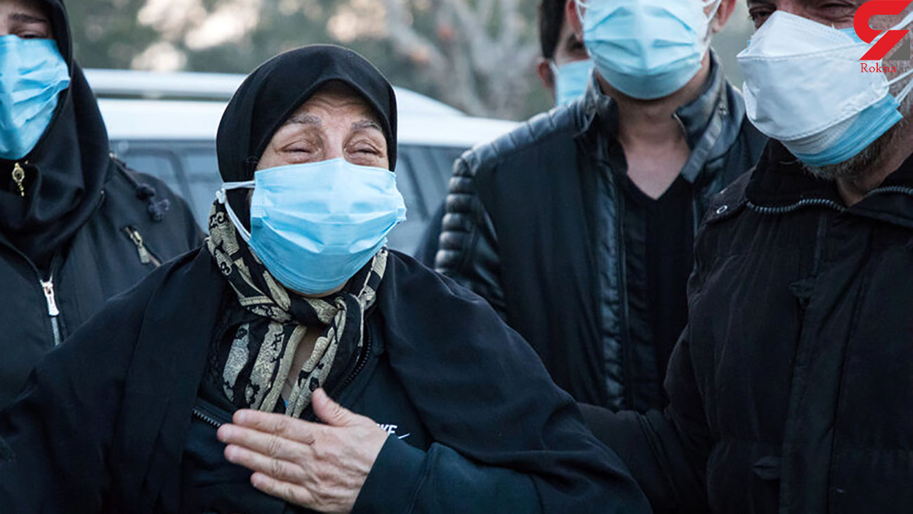 8 عکس از ضجه های مادر علی  ا نصاریان / او را به بیمارستان بردند