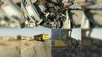 مرگ دلخراش 11 ایرانی در عراق +عکس  صحنه تصادف