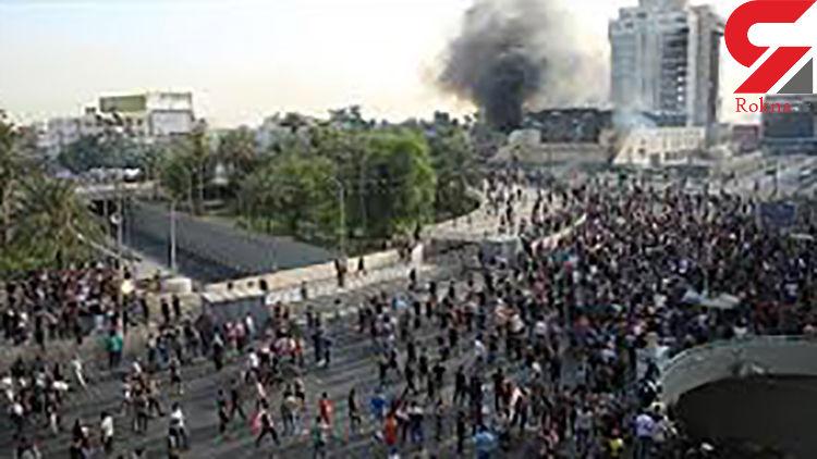 فرمانده عملیات بغداد: دستور دادهایم از گلوله جنگی علیه معترضان استفاده نشود