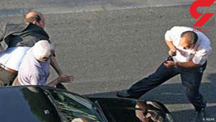 دعوای بر سر کرایه آژانس راز سرقت خودروی مزدا 3 را در تهران لو داد
