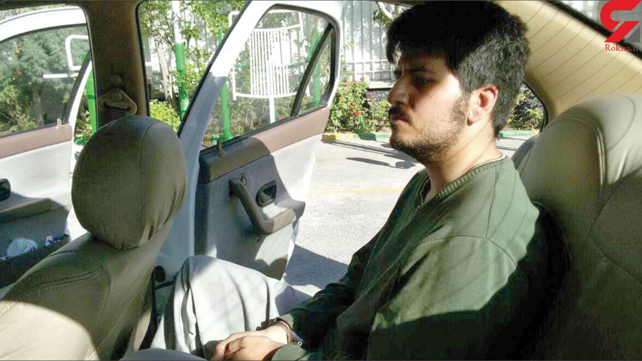 قاتل بی رحم دانش آموز مشهدی دیوانه نیست  / حضور متهم صبح امروز در محل قتل + عکس