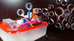 ساخت دستگاه حباب ساز در خانه + فیلم