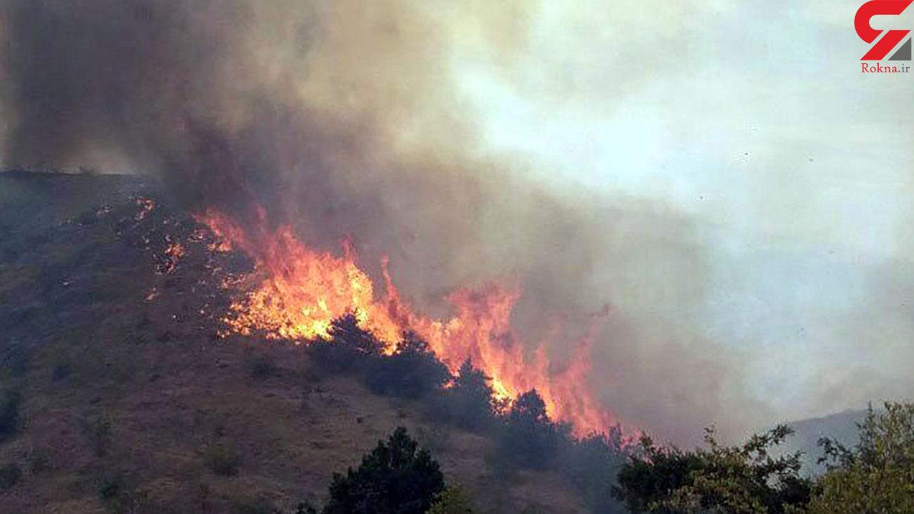 آتش سوزی بزرگ در گچساران