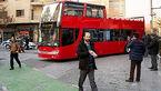 اتوبوس دو طبقه جدید در خیابان های تهران +عکس