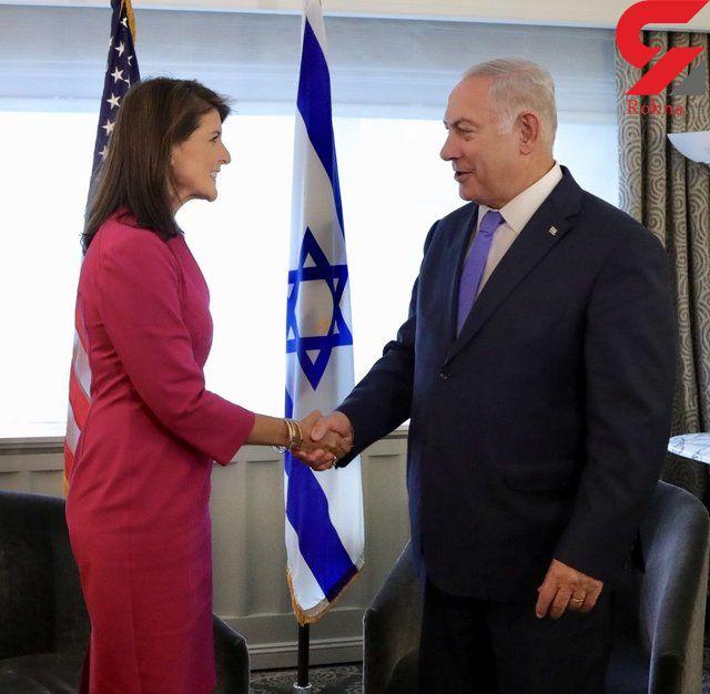 نتانیاهو از هیلی تشکر کرد