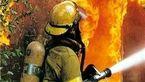 مهار 5 حادثه آتش سوزی در اهواز