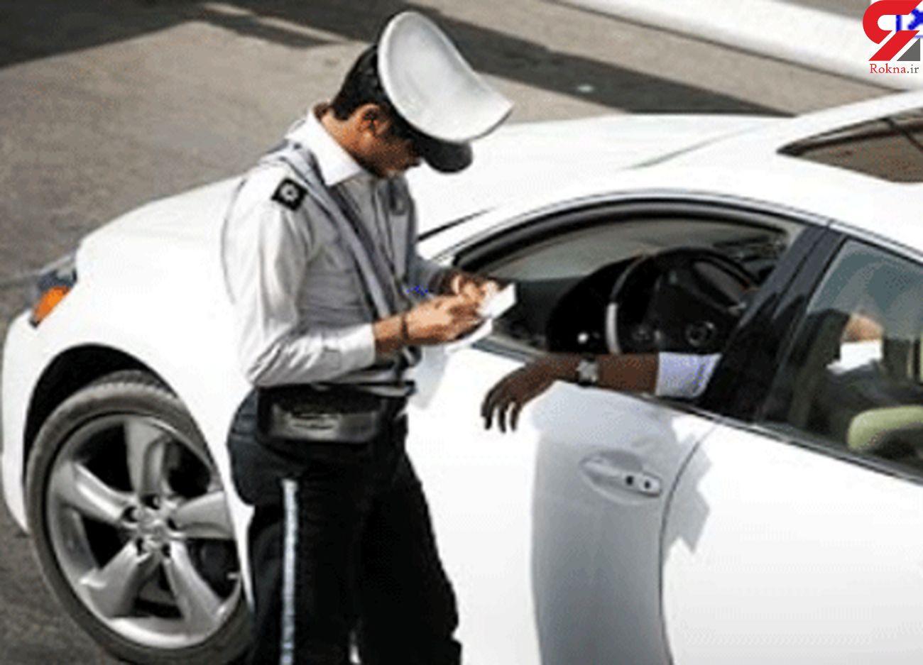 توقف خودروی میلیاردی در یزد