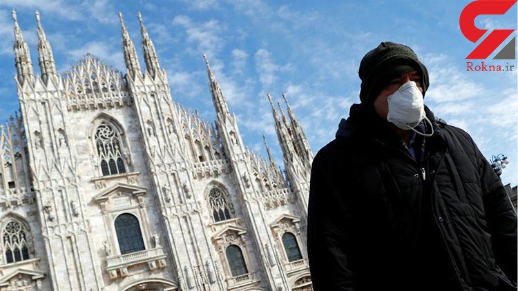 آمار مرگ و میر در ایتالیا بر اثر کرونا به ۶۰۷۷ نفر رسید