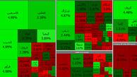 در بورس قرمز امروز حال پتروشیمی ها و فملی بد نیست ! + جدول نمادها