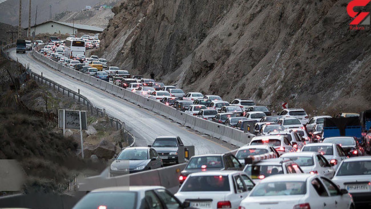 ترافیک در محورهای شمالی