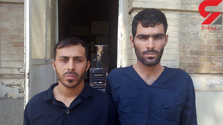 این 2 مرد را می شناسید / آنها مسافران شیطانی در تهران بودند + عکس