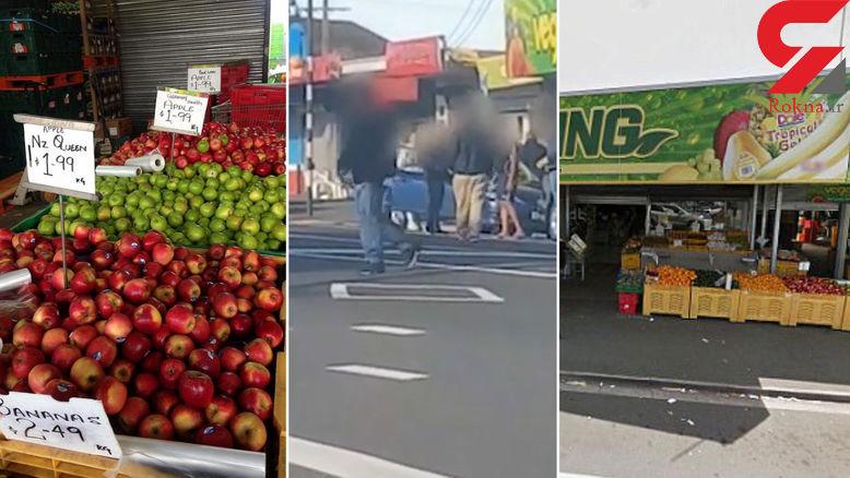 مغازه دار شجاع با چوب دزد را فراری داد + فیلم و عکس