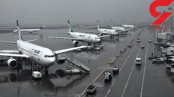 توضیح روابط عمومی فرودگاه مشهد در مورد روند خدمترسانی در زمان لغو پروازها