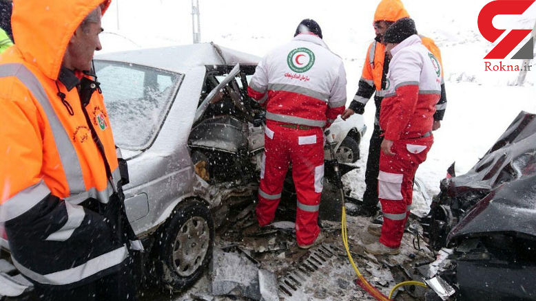 184 مسافر زمستانی متاثر از حوادث به مراکز درمانی منتقل شدند