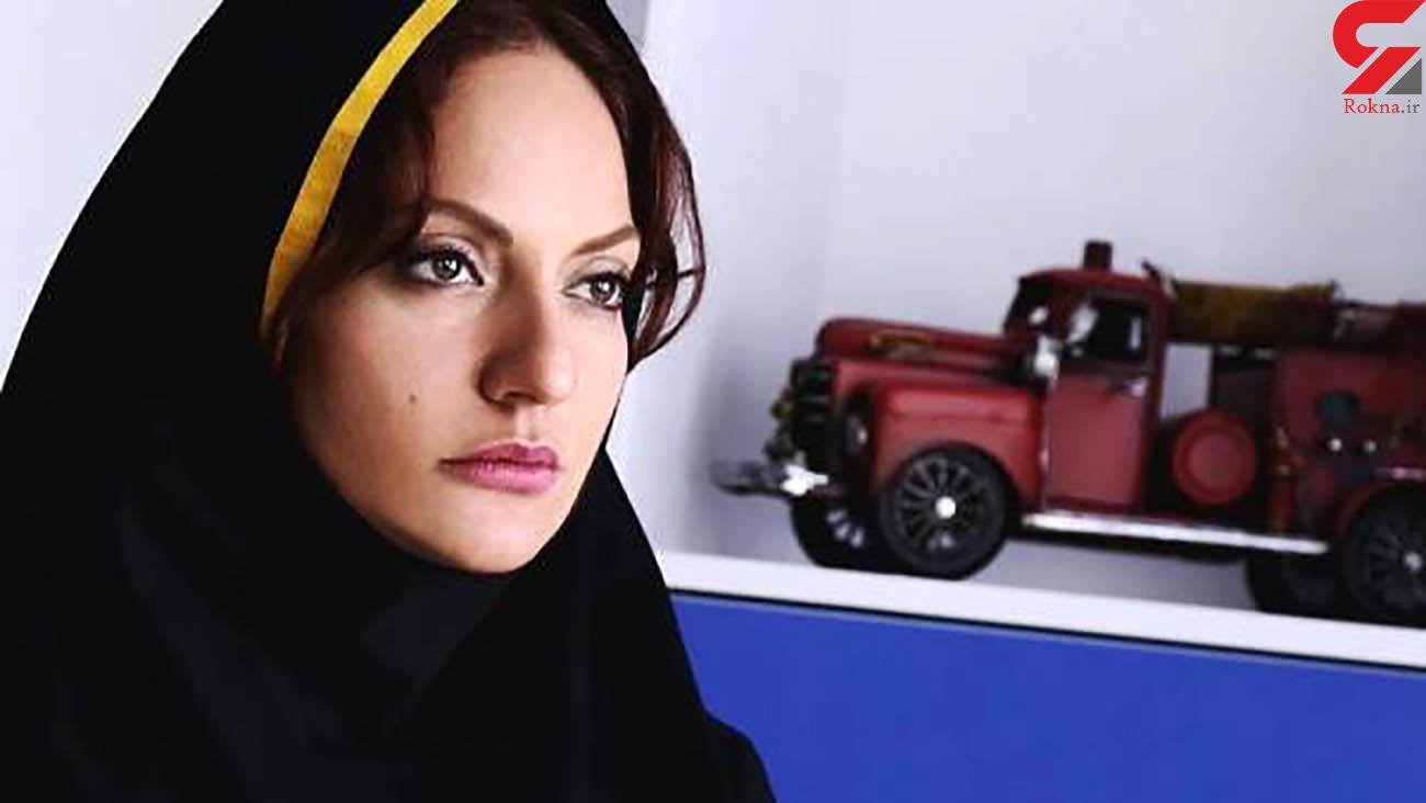 مهناز افشار درکنار خودروی لاکچری خارجی
