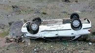 واژگونی پژو در اهواز حادثه آفرید