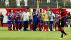 آشوب و جنجال در دربی ایالتی فوتبال برزیل