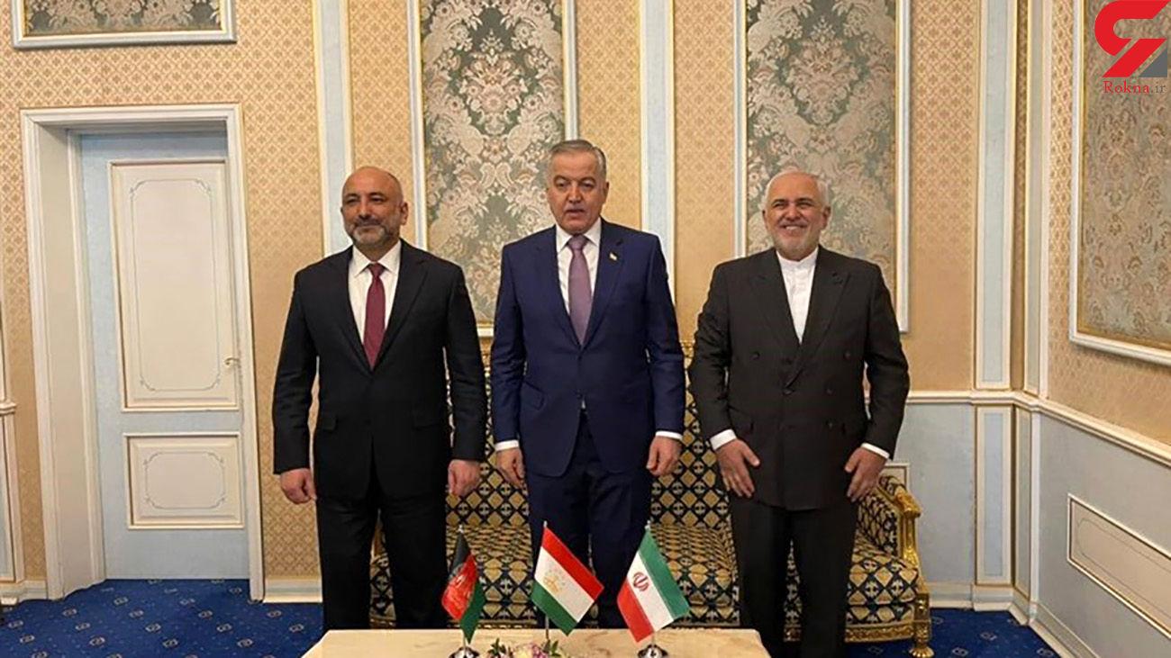 وزرای خارجه ایران، تاجیکستان و افغانستان باهم دیدار کردند