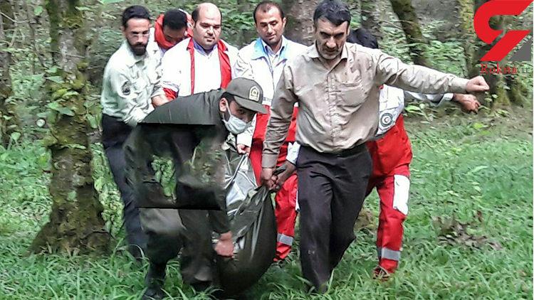 راز جسد حلق آویز شده جوان اصفهانی در جنگل های گیسوم+ عکس جسد