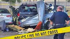 سقوط هواپیمای جنگ جهانی در زمان نمایش+عکس