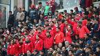 حضور هواداران پرسپولیس در ورزشگاه آزادی + تصاویر