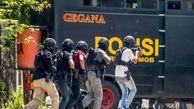 110 تروریست در اندونزی دستگیر شدند