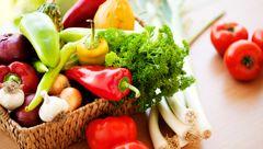 مبراز با پیری زودرس با سبزیجات رنگی