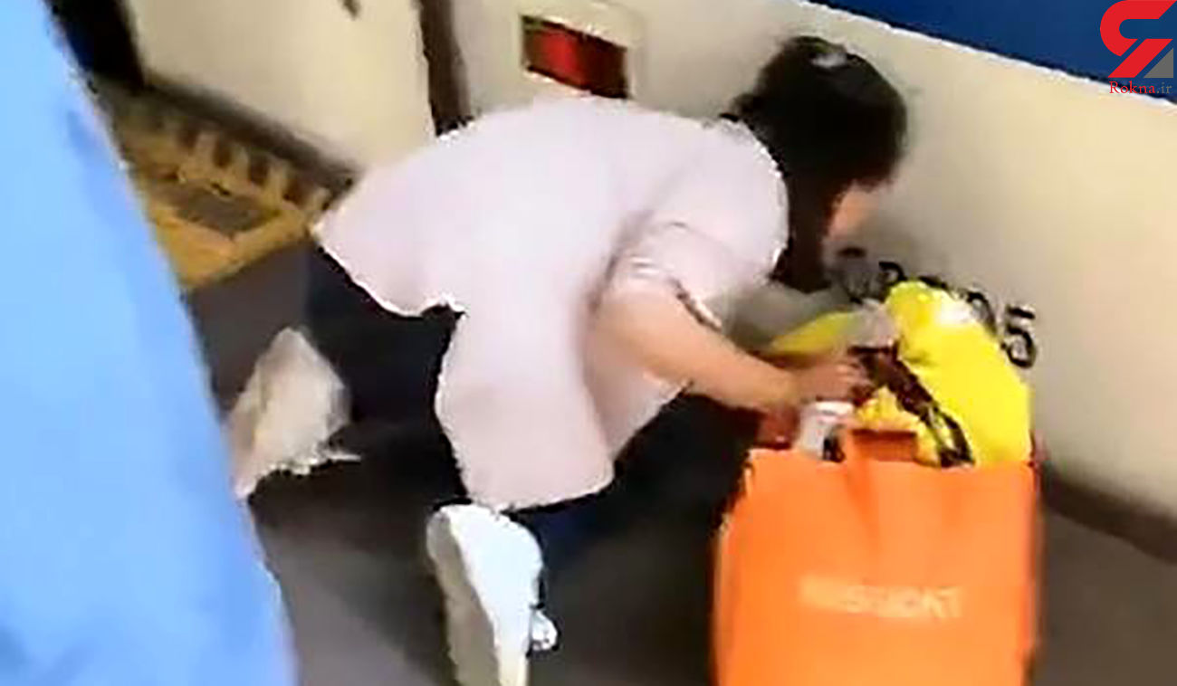 حادثه هولناک برای دختر بچه خاطر موبایل بازی مادر در مترو + عکس