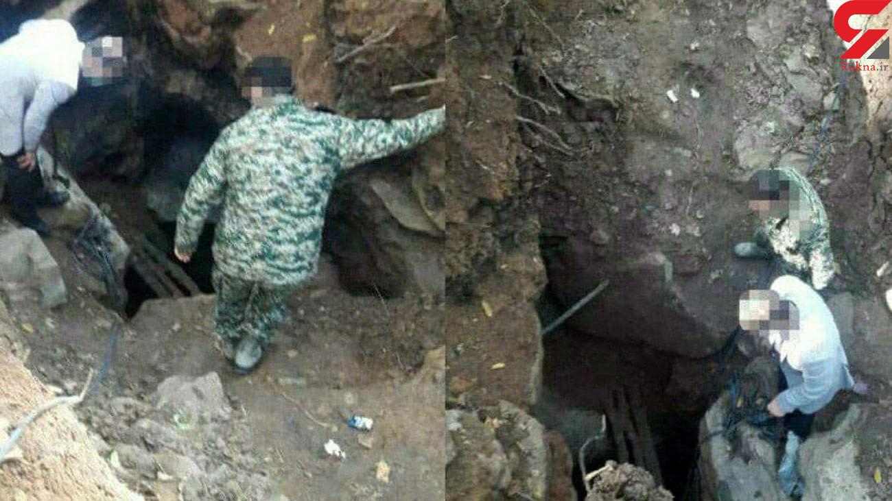 ۲ باند حفاری غیر مجاز در نور متلاشی شد