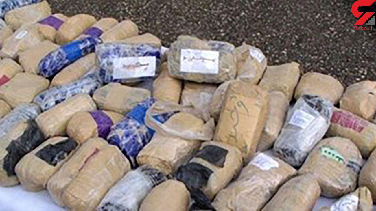 کشف و ضبط 160 کیلوگرم انواع مواد مخدر در رشت