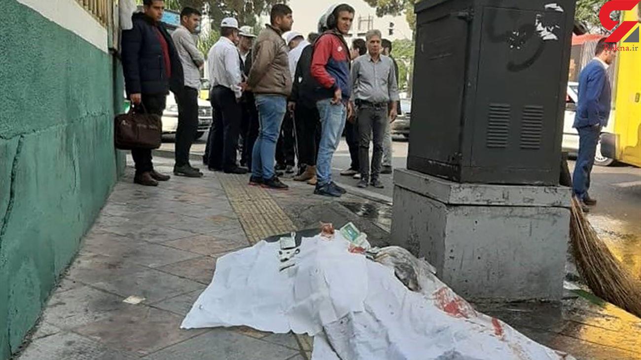 اتوبوس عابر پیاده را له کرد / تصادفی هولناک در جنوب تهران