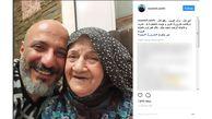 امیر جعفری عزادار شد / تسلین بازیگر مرد به این هنرمند+ عکس