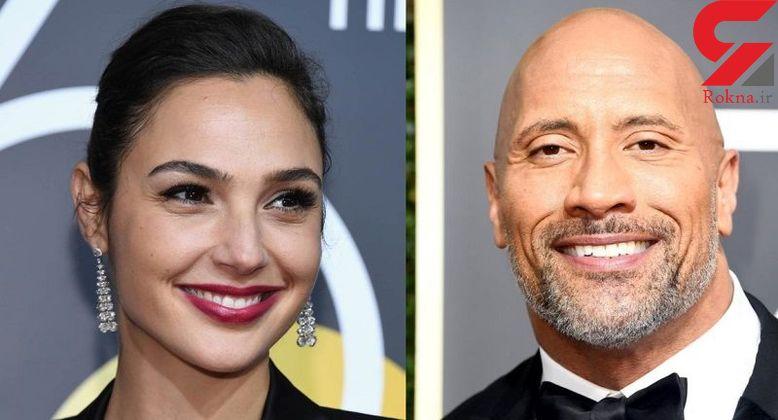 ماجراجویی پر فروش ترین بازیگر مرد سینما با زن شگفتانگیز