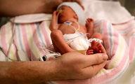 نوزاد نیم کیلویی در همدان + عکس