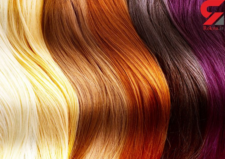 شیوه رنگ کردن موی سر به صورت طبیعی
