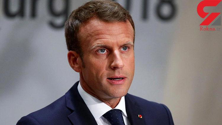 مکرون فرانسوی ها را به حضور در محل کارشان تشویق کرد