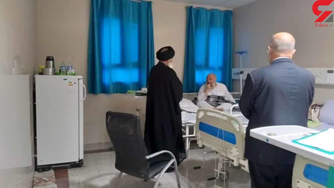 آیت الله سرشناس به خاطر کرونا در بیمارستان بستری شد / دعایش کنید + عکس