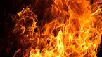 آتش زدن زن نیویورکی به خاطر شرکت در اعتصاب +عکس